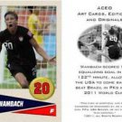 Abby Wambach 2011 Women's World Cup USA Soccer ACEO Sports Card
