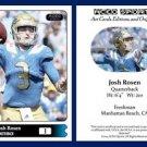 Josh Rosen NEW! 2015 ACEO Sports Football Card - UCLA Bruins QB