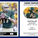 Seth Russell NEW! 2015 ACEO Sports Football Card - Baylor Bears QB