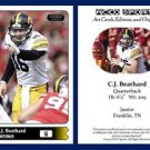 C.J. CJ Beathard NEW! 2015 ACEO Sports Football Card Iowa Hawkeyes QB