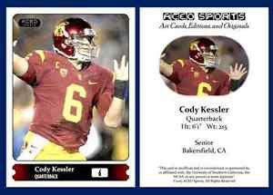 Cody Kessler NEW! 2015 ACEO Sports Football Card - USC Trojans QB