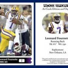 Leonard Fournette NEW! 2015 ACEO Sports Football Card LSU Tigers RB