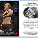 Ronda Rousey 2013 ACEO Sports Trading Card UFC 157 Commemorative MMA
