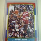 Michael Jordan 1986-87 Fleer Style Alternate Reprint RP Rookie ACEO Card 57 RC