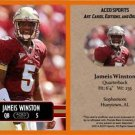 Jameis Winston (Lot of 50) 2014 ACEO Sports Football Pre RC Cards Buccaneers FSU