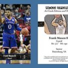 Frank Mason III NEW! 2016-17 ACEO Sports Basketball Card Kansas Jayhawks