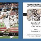 Zach Terrell NEW! 2016 ACEO Sports Football Card - Western Michigan Broncos - QB