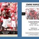 Lamar Jackson NEW! 2016 ACEO Sports Football Card - Louisville Cardinals - QB