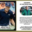 Jordan Spieth 2015 Masters Commemorative ACEO Sports Golf Card