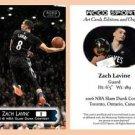 Zach Lavine BRAND NEW 2016 Slam Dunk Contest Commemorative ACEO Card - Minnesota
