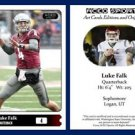 Luke Falk 2015 ACEO Sports Football Card Washington State Cougars - QB