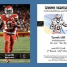 Tyreek Hill NEW! 2016 ACEO Sports Football Card Kansas City Chiefs Rookie RC