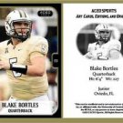 Blake Bortles 2013 ACEO Sports Football Pre RC Card - UCF Jacksonville Jaguars