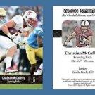 Christian McCaffrey NEW! 2016 ACEO Sports Football Card - Stanford Cardinal - RB