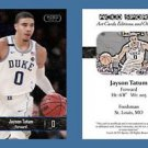 Jayson Tatum NEW! 2016-17 ACEO Sports Basketball Card Duke Blue Devils