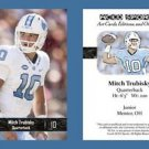 Mitch Trubisky NEW! 2016 ACEO Sports Football Card - UNC Tar Heels - QB