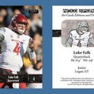Luke Falk NEW! 2016 ACEO Sports Football Card - Washington State Cougars - QB