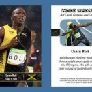 Usain Bolt NEW! ACEO Sports Card 2016 Rio Olympics Jamaica 100m Track & Field
