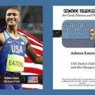 Ashton Eaton NEW! ACEO Sports Card 2016 Rio Olympics USA Decathlon Track & Field