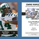 Greg Windham NEW! 2016 ACEO Sports Football Card - Ohio University Bobcats - QB