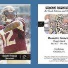 Deondre Francois NEW! 2016 ACEO Sports Football Card - FSU Seminoles - QB