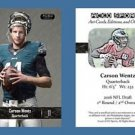 Carson Wentz NEW! 2016 ACEO Sports Card RC Rookie Philadelphia Eagles NDSU