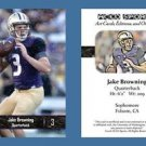 Jake Browning NEW! 2016 ACEO Sports Football Card - Washington Huskies - QB