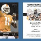 Joshua Josh Dobbs NEW! 2016 ACEO Sports Football Card Tennessee Volunteers Vols