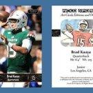 Brad Kaaya NEW! 2016 ACEO Sports Football Card - Miami Hurricanes - QB