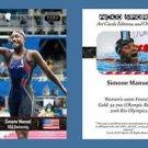 Simone Manuel NEW! ACEO Sports Card 2016 Rio Olympics USA Swimming