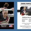 Madison Kocian NEW! ACEO Sports Card 2016 Olympics Team Gold - Final Five