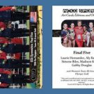 Final Five NEW! ACEO Sports Card 2016 Rio Olympics Team Gymnastics Gold