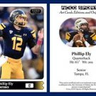 Phillip Ely 2015 ACEO Sports Football Card - Toledo Rockets - QB