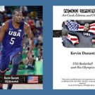 Kevin Durant NEW! ACEO Sports Card 2016 Rio Olympics USA Basketball