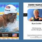 Ryan Lochte NEW! ACEO Sports Card 2016 Rio Olympics USA Swimming