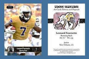 Leonard Fournette NEW! 2016 ACEO Sports Football Card - LSU Tigers - RB