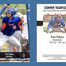 Tim Tebow NEW! 2016 ACEO Sports Baseball Card - New York Mets