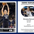 Breanna Stewart 2015-16 ACEO Sports Basketball Card UCONN