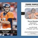 Trevor Siemian NEW! 2016 ACEO Sports Football Card Denver Broncos Northwestern