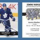 Auston Matthews NEW! 2016 ACEO Hockey Card - Toronto Maple Leafs Rookie RC