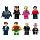 Super Hero Batman Joker Penguin Cat Woman Alfred Minifigure Lego Compatible Toy