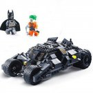 Batman Tumbler Batmobile Joker Super Hero DC Mini Figure Lego Compatible Toy