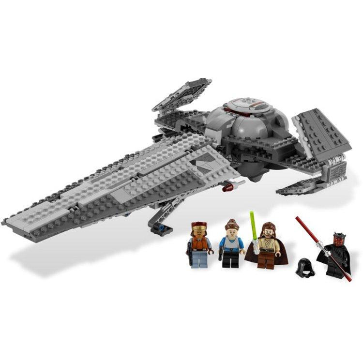 Lego Compatible Bricks Star Wars Darth Maul Sith Infiltrator Spaceship Aircraft