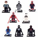 SY188 Super Hero Marvel Spiderman Peter Parker Minifigure Compatible Lego Toy
