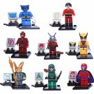 Lego Compatible Super Hero Marvel Cartoon X-Men Wolverine Minifigure