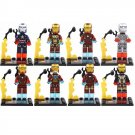 SY185 Super Hero Avenger Ironman Mark Tony Stark Minifigure Compatible Lego Toy
