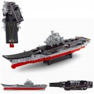 Lego Compatible Toy Army Navy Battle War Helicopter Aircraft Carrier