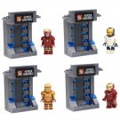 SY213 Figure Avengers Iron Man Ironman Armor Suit Minifigure Compatible Lego Toy