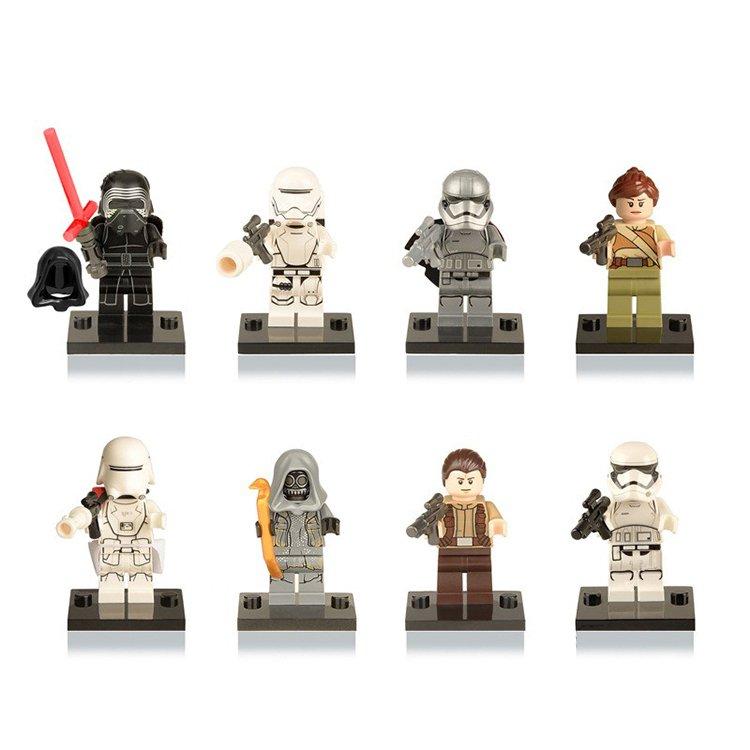 Star Wars Jedi Storm Trooper Soldier Kylo Ren Minifigure Lego Compatible Toy
