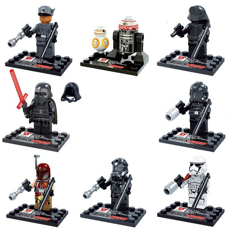 Star Wars Jedi Kylo Ren Imperial Storm Trooper Minifigure Lego Compatible Toy